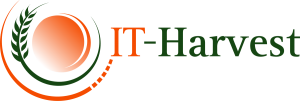 IT-Harvest sun and wheat logo